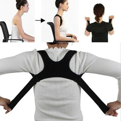 Unisex Back Shoulder Posture Correction Band Humpback Back Pain Relief Corrector