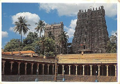 India Eastern Towers Sri Meenakshi Temple Madurai Tamilnadu