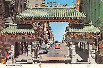 San Francisco's China Town Gateway to the Orient
