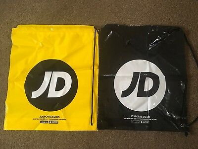 9b1c49e5b2 4 X JD Sports Duffle Bags Swim Gym Sports Bag Drawstring Carrier Festival  NEW