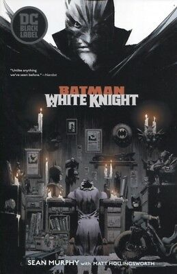 Batman White Knight Tpb Reps #1-8 Dc Comics New/unread