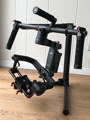 DJI RONIN M 3-Axis Gimbal Stabilizer with 3 Batteries + Remote Controller + Case