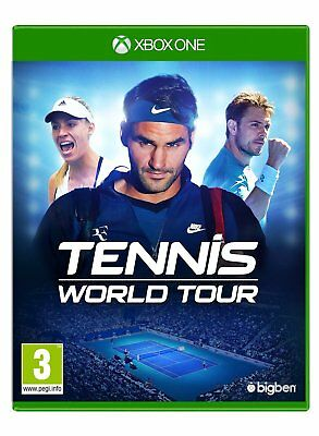 Tennis World Tour - Xbox One - New & Sealed - In Stock Now!!!