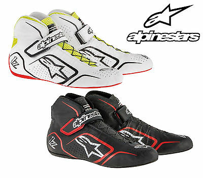 Alpinestars Tech 1-Z Race Boots FIA Approved for Circuit / Rally Racing LEATHER