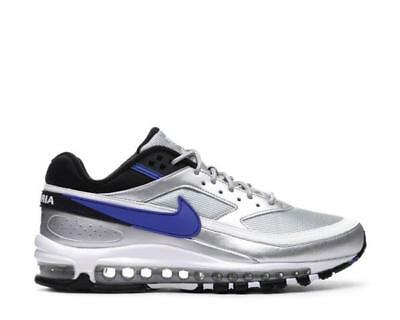 "Men's Nike Air Max 97/BW ""Metallic Silver/Violet"" Athletic Fashion AO2406 002"