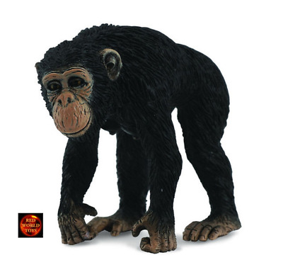 Schleich Chimpanzee Female with Baby Toy Figure Schleich North America 14679