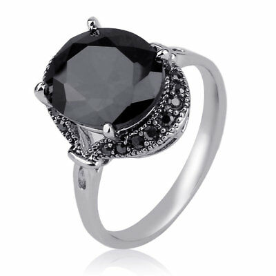 European American Style Women Vintage Zinc Alloy Party Ring Jewelry Accessory RB
