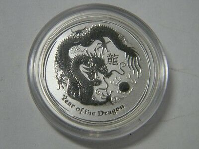 1/2 oz Silver Coin Australia - Year of the Dragon 2012 - CAPSULE