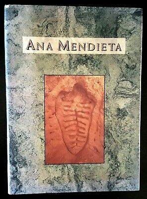 "SIGNED 2X Raquelin Mendieta, B Clearwater ""ANA MENDIETA A Book of Works""  HC DJ"