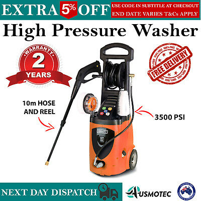 New HIGH PRESSURE WASHER WATER GURNEY CLEANER Electric Hose Reel Gerni 3500PSI
