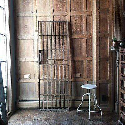 Antique Jail Door, Steel Jail Cell Door, Joliet Penitentiary Illinois