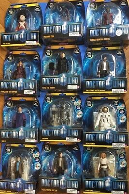 Doctor Who Action Figure Eleventh 11th Doctor River Song Cyberman Astronaut Lot