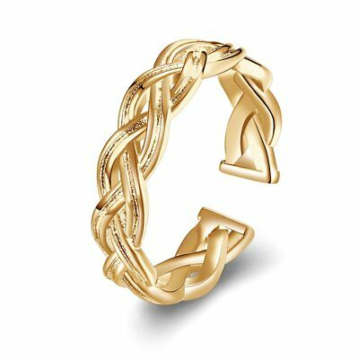 Women Copper Opening Finger Rings Geometric Popular Wedding Bands Gift Rings RB