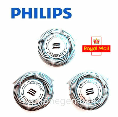 3x Quality Philips Replacement HQ8 Shaver Head Razor Blades Cutter Comfort UK
