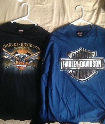 New Harley Davidson T-shirts (L) Every Style Made From 2016-2017
