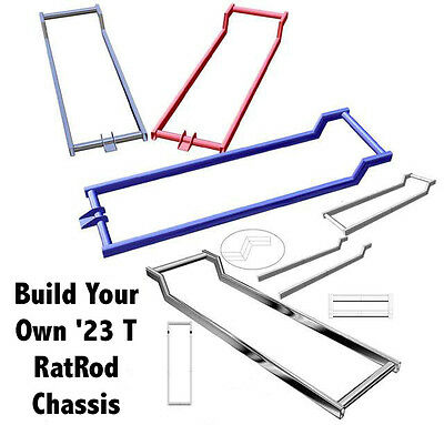 23 T Bucket Roadster Chassis Frame Plans - Great Start for a Rat Rod - Hot Rod