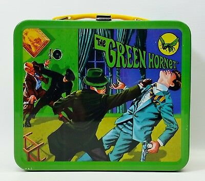 G Whiz Reproduction Green Hornet Metal Lunch Box NEW