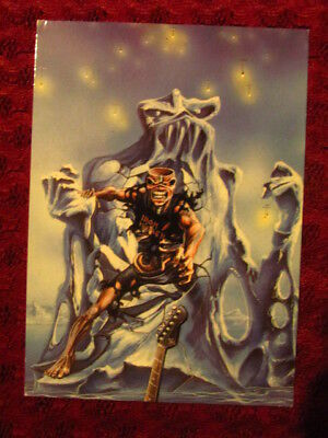 Iron Maiden Postcard Official Licencied Art Print Carte Postale No Picture Disc