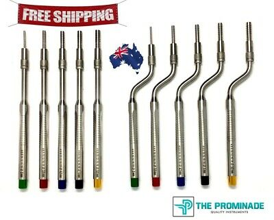 Osteotome Sinus Lift Instruments Set Convex Implant Dental Surgery Lab