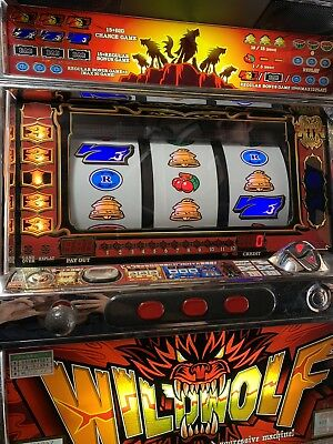 *WILD WOLF*Family Slot Machine Wilderness theme 4th Reel~back-to-Nature/wildlife