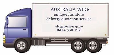 Delivery Quotes for furniture purchased from BaileyFrenchAntiques Seaford Vic