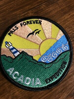 Acadia Iron On Patch Pals Forever Patch