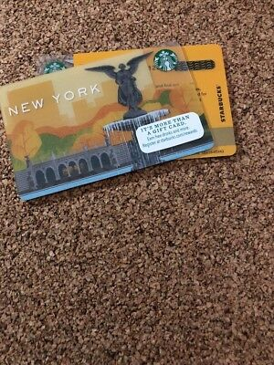 Starbucks City Card New York 2014 Central Park Fountain New Pin Intact #6109