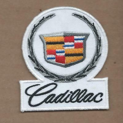 New 2 1/2 X 3 Inch Cadillac Iron On Patch Free Shipping