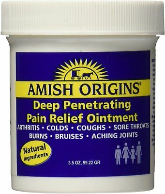 Penetrating Pain Relief Ointment, Amish Origins, 3.5 oz