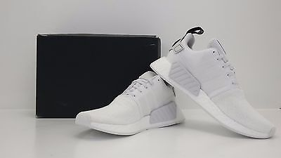 9fd8ae2b21004 Adidas NMD R2 Nomad Runner BY9914 Crystal White Size 12 - BRAND NEW IN BOX