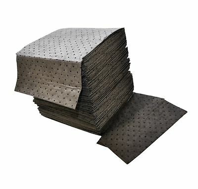 """Spilfyter DB-75 Gray Universal Sorbent MRO Double Weight Absorbent Pad, 18"""" L..."""