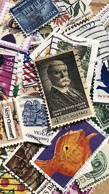 US Stamp Collection -  Mixed  25 Postage Stamps +BONUS OFFER