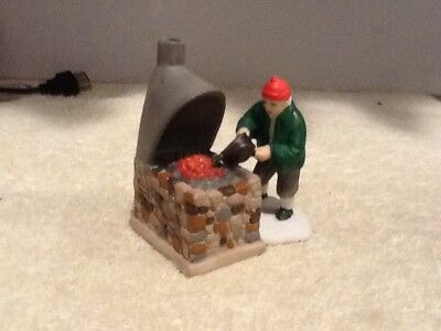 Dept 56 Dickens Village - Blacksmith, BLACKSMITH AND FORGE ONLY - #59340 - EUC