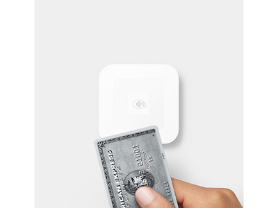 SQUARE Contactless Apple/Android Pay Credit Card Reader PLUS USB charging dock!