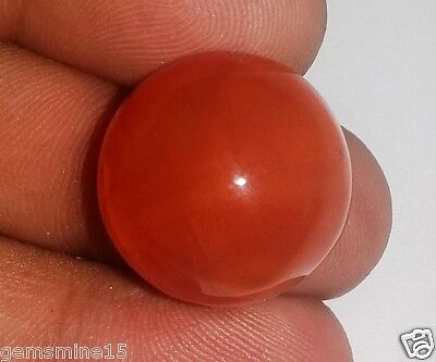 34.27 CT CARNELIAN 100% NATURAL CERTIFIED AAA+ FANTASTIC Quality Gemstone