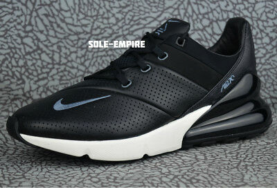 c27f77afb0 Nike Air Max 270 Premium Leather AO8283-001 Men's NEW IN BOX Black Carbon  Sail
