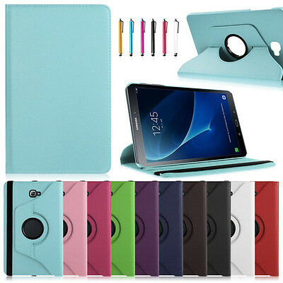 For Samsung Galaxy Tab A 10.1 SM-T580 T585 2016 Tablet Rotating Stand Case Cover