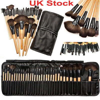 32pcs Professional Soft Cosmetic Face Eyebrow Shadow Makeup Brush Tool Set Kit