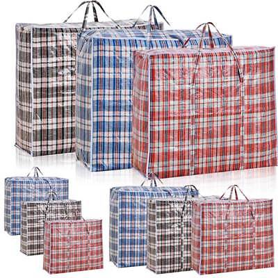 Reusable Laundry Storage Shopping Bags Bag Zipped Strong Small Extra Large Hots