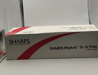 Pitch-It Sr. IV Pole by Sharps (30002)- Portable/Foldable