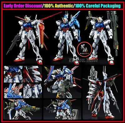P-Bandai Premium MG 1/100 PERFECT STRIKE GUNDAM SPECIAL COATING Model Kit +Gift