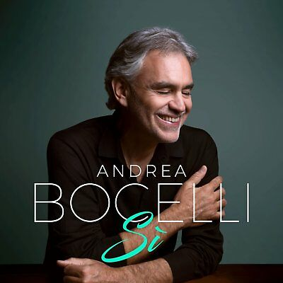 ANDREA BOCELLI SI CD (Released October 26th 2018)