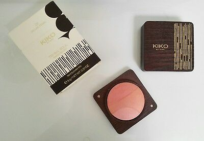 KIKO Tribal Soul Baked Blush 01 Deluxe Coral. LIMITED EDITION. NEW IN BOX