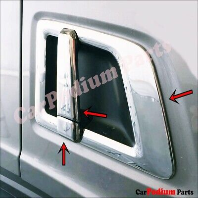 Scania S500-R450 Chrome Door Handle Cover  2017 >  Stainless Steel