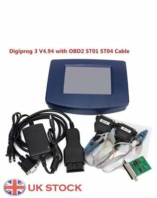2017 Latest DigiProg 3 DP3 V4.94 Mileage Odometer Correction Tool OBD2 NEW FDTI