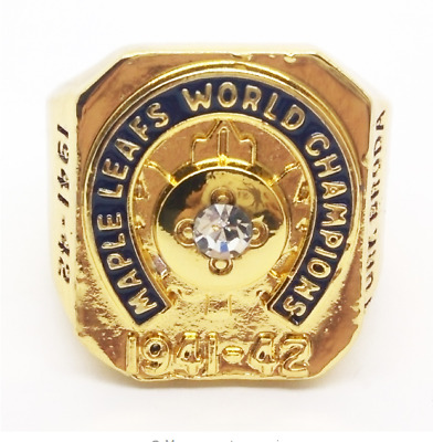 1941-42 Toronto Maple Leafs Stanley Cup Championship Ring