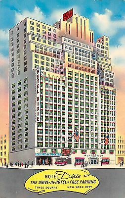 New York City Times Square Broadway Hotel Dixie The Drive-In Hotel Free Parking