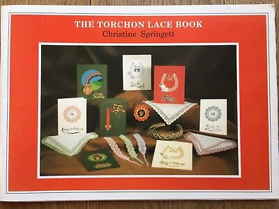 The Torchon Lace Book Christine Springett Bobbin Lace, Lacemaking, Antique craft