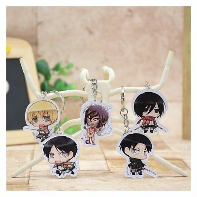 Attack On Titan (Shingeki No Kyojin) Aot Themed Keychain Keyring Keyfob