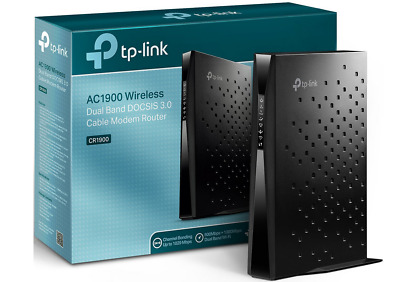 TP-link AC1900 Wireless Dual Band DOCSIS 3.0 Cable Modem Router CR1900